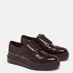 Zara Derby Oxford shoes